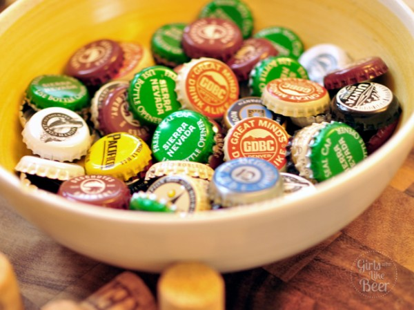 Diy beer cap projects girls who like beergirls who like beer for Beer bottle cap projects