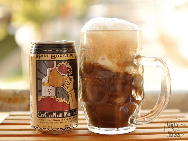 Beer float spotlight: Coconut Porter and coffee ice cream - Girls Who ...