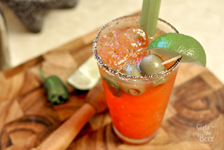 From Girls Who Like Beer: The perfect Bloody Mary