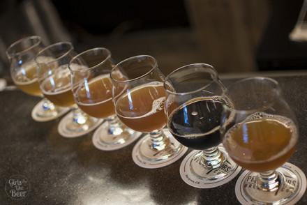 The 6-beer sampler