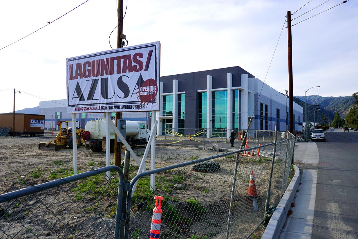 Lagunitas Azusa construction